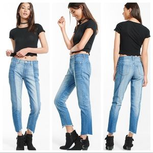 NWT | Express | Pieced Girlfriend Jean
